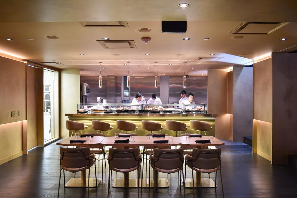 Live Kitchen Dining at Akira Back